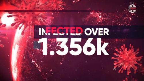 Videohive - Pandemia - Hot News, Stats, Politics Opener