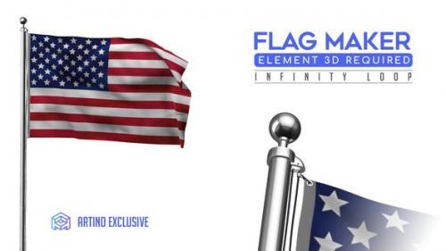 Videohive - Flag Maker