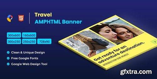 CodeCanyon - Travel AMPHTML Banners Ads Template v1.0 - 26215813