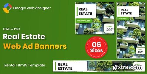 CodeCanyon - Real Estate Banners Google Web Designer v1.0 - 26239852