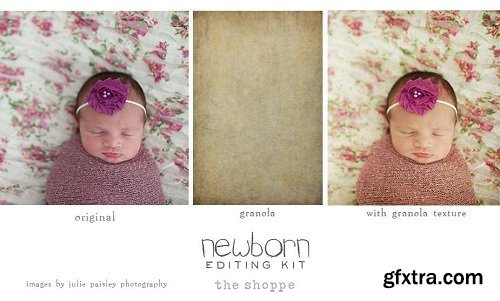 Newborn Editing Kit Photoshop Actions and Textures