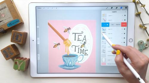 SkillShare - Intro to Procreate: Illustrating on the iPad [UPDATED for Procreate 5] - 612500335