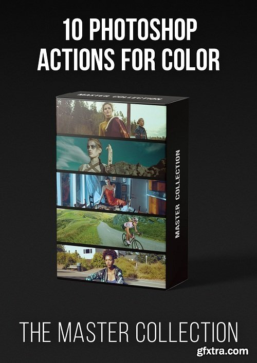 PRO EDU - Master Collection   10 Photoshop Actions for Color