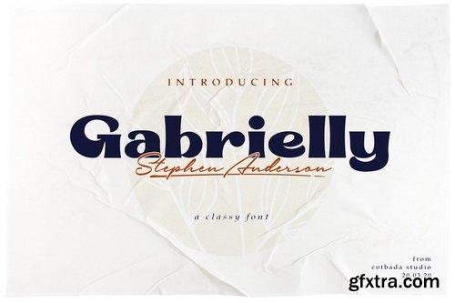 CM - Gabrielly Display Font - 4735008