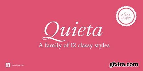 Quieta Font Family