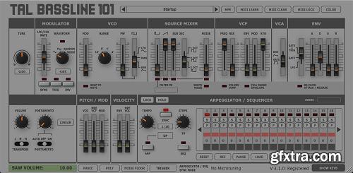 Togu Audio Line TAL-BassLine-101 v3.5.3