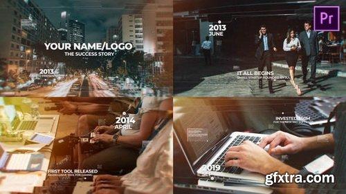 Videohive - Modern Timeline Slideshow MOGRT - 26261583