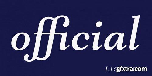 Mantonico Font Family
