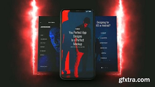 Videohive App Promo Builder for Element 3D 24884226