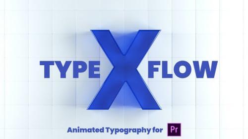 Videohive - X-Type Flow | Premiere Pro - 26320285