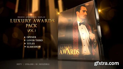 Videohive Luxury Awards Pack 10468482
