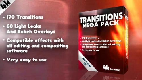 Videohive - Transitions Mega Pack - 21588383