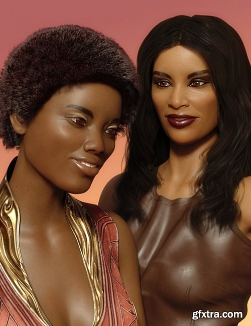 Daz3D - Faces of the World - Africa for Genesis 8 Female
