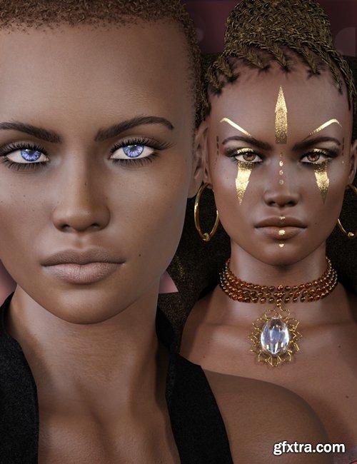 Daz3D - Rayya for Genesis 8 Female