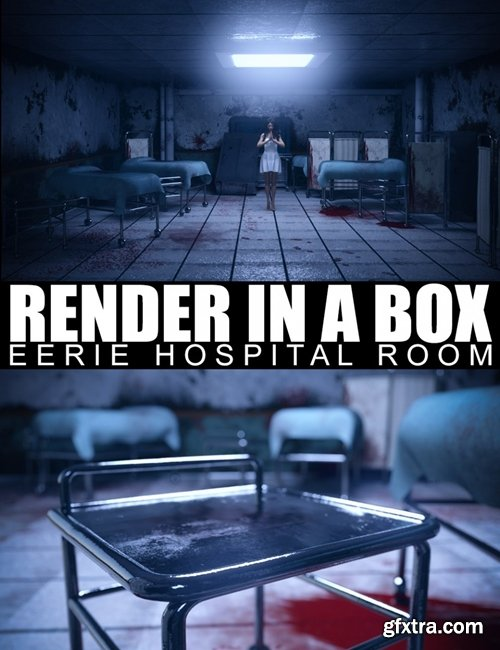 Daz3D - Render In A Box - Eerie Hospital Room