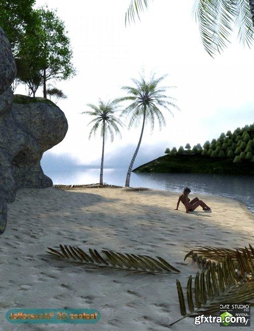Daz3D - The Beach