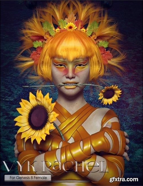 Daz3D - VYK Rachel for Genesis 8 Female