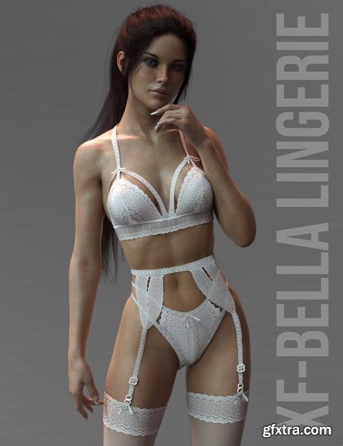 Daz3D - X-Fashion Bella Lingerie Genesis 8 Females