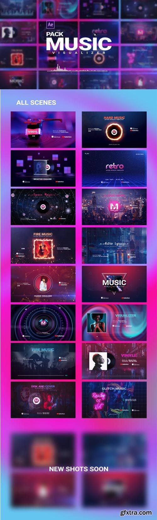 Videohive - Music Visualizer Pack - 26261391