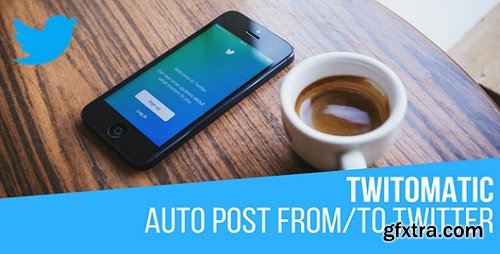 CodeCanyon - Twitomatic v2.0.3 - Automatic Post Generator and Twitter Auto Poster Plugin for WordPress - 19584967 - NULLED