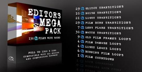 Videohive - Editors Mega Pack