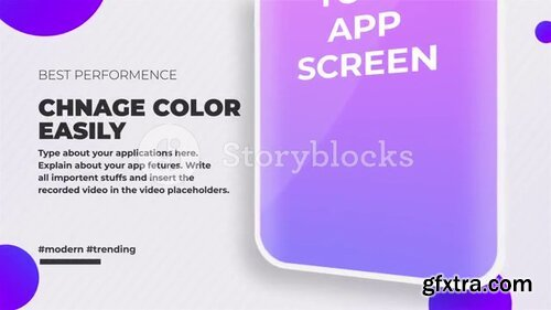 Videoblocks - App Promo Pack | After Effects