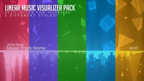 Videohive - Linear Music Visualizer Pack