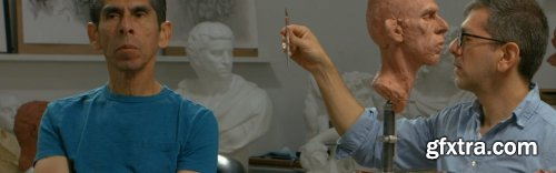 Modeling the Portrait in Clay Part 3: Balancing Symmetry