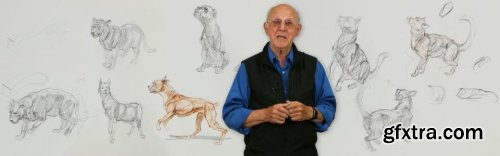 Animal Drawing Part 2: Dogs & Cats with Glenn Vilppu