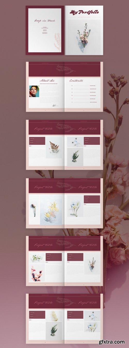 Art Portfolio Brochure Layout 335042638