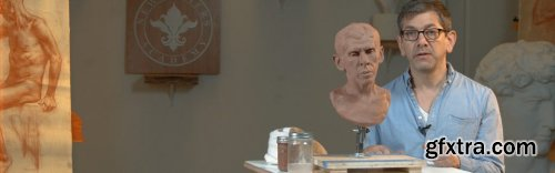 Modeling the Portrait in Clay Part 8: The Expression