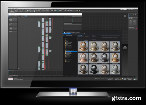 SIGERSHADERS XS Material Presets Studio v2.2.0 for 3ds Max 2013 - 2021