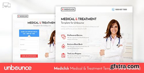 ThemeForest - Unbounce Medical Landing Page Template - Mediclick v1.0 - 11061361