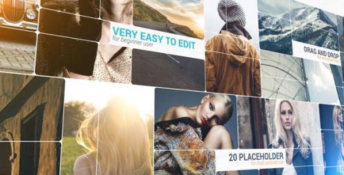 Videohive - 3D Slice Photo Slideshow