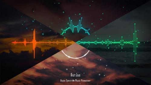 Videohive - Audio Spectrum Music Visualizer
