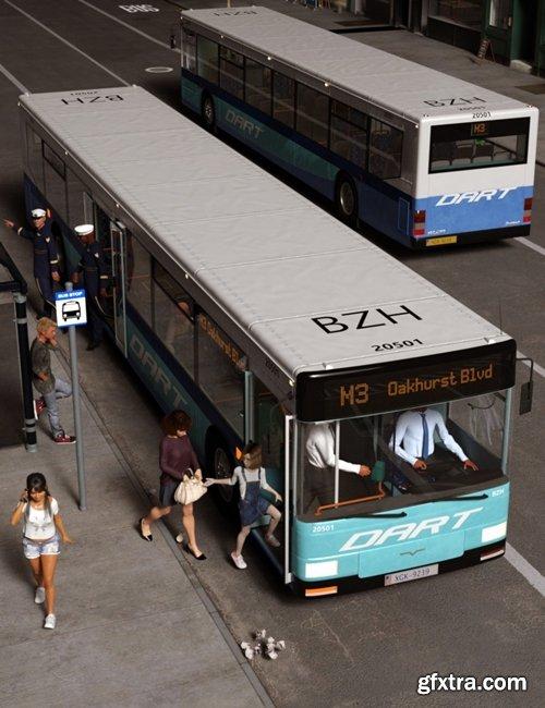 Daz3D - City Bus