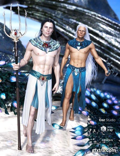 Daz3D - dForce Alascanus Outfit for Genesis 8 Male(s)
