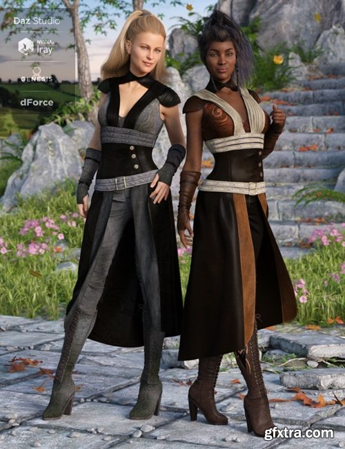 Daz3D - dForce Greenborough Adventure Outfit Textures