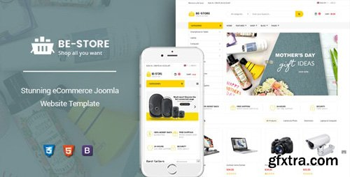 ThemeForest - BeStore v3.9.16 - Multipurpose Joomla eCommerce Template - 23916768