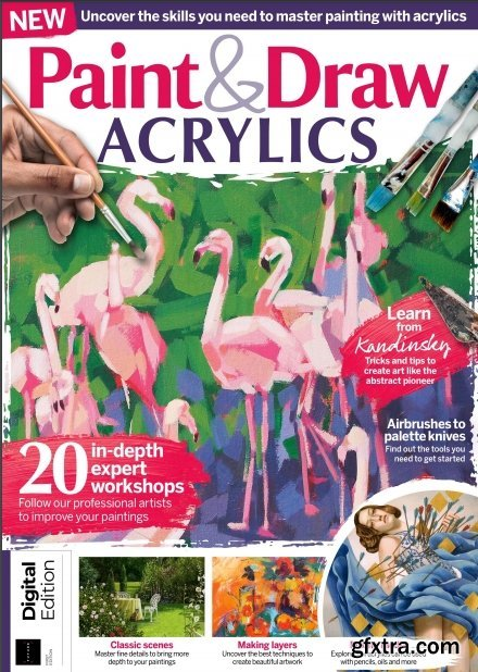 Paint & Draw Acrylics - First Edition 2020 (HQ PDF)