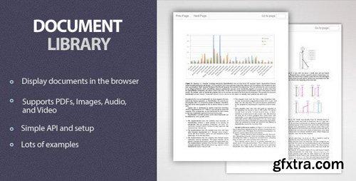 CodeCanyon - Document Library v1.0 - 11771476