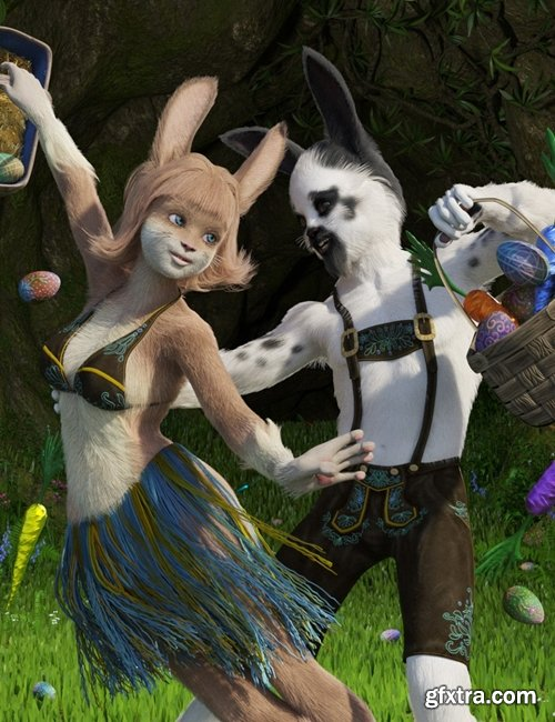 Daz3D - Bunny World Bundle