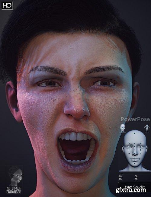 Daz3D - Auto Face Enhancer Genesis 8 Female(s) Bundle