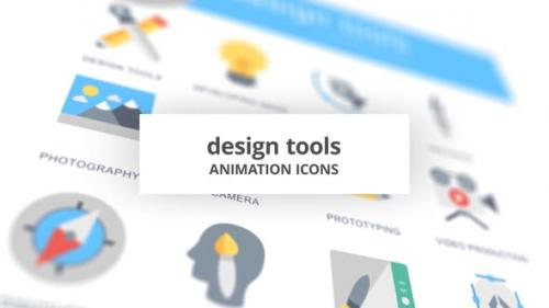 Videohive - Design Tools - Animation Icons