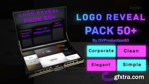 Videohive Logo Reveal Pack 26444011