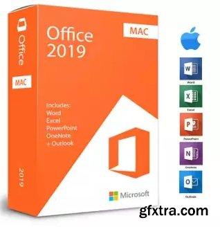 Microsoft Office 2019 for Mac v16.37 VL Multilingual