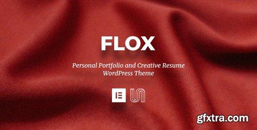 ThemeForest - FLOX v1.0 - Personal Portfolio & Resume WordPress Theme - 24659165