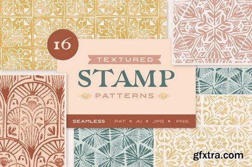 CM - Textured Stamp Patterns - 4615973