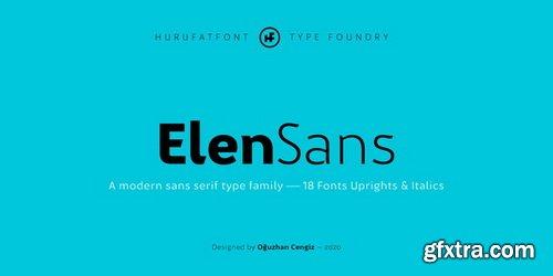 Elen Sans Font Family