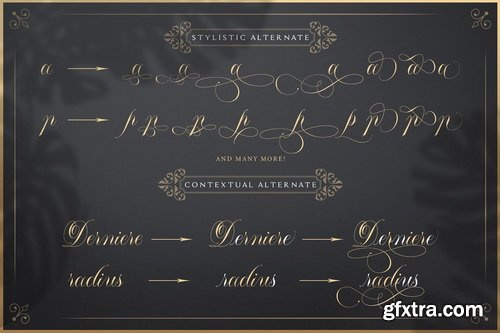 Mallaire Font Family